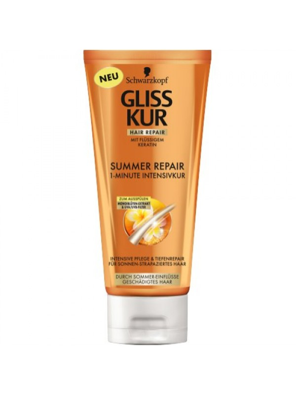 Schwarzkopf Gliss Kur Shampoo Summer Repair Mask