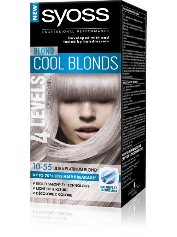 Syoss Haarverf 10-55 Platinum blond