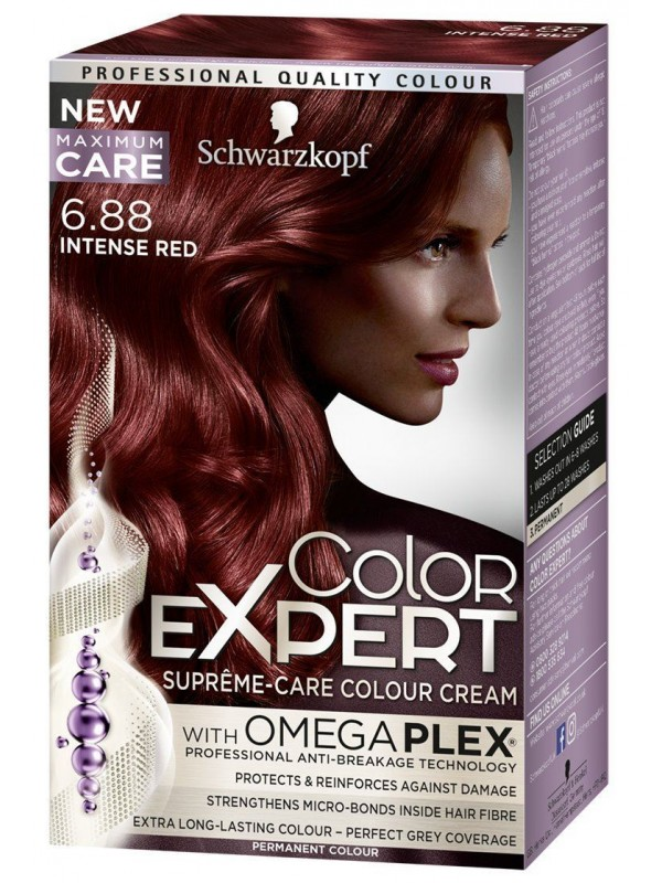 Color Expert intens rood