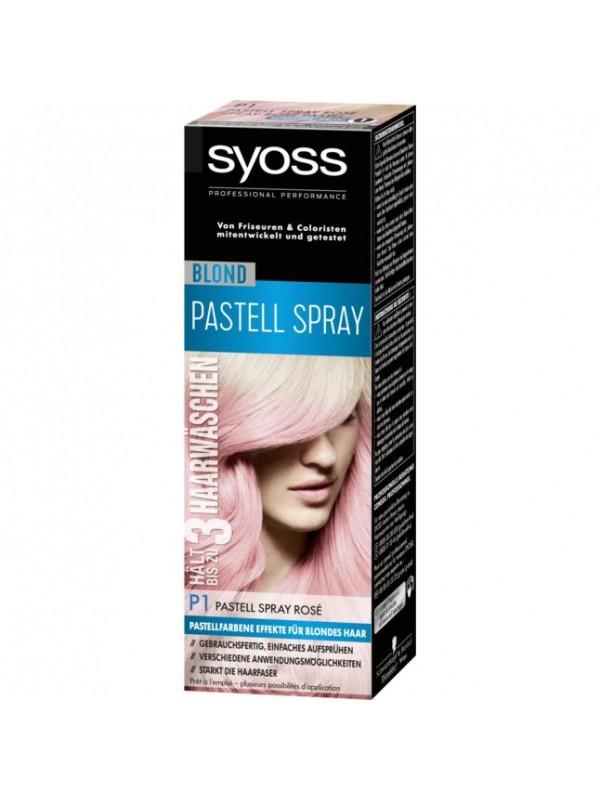 Syoss Pastel Spray rose