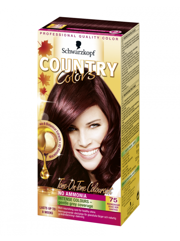 Country Colors rood zwart