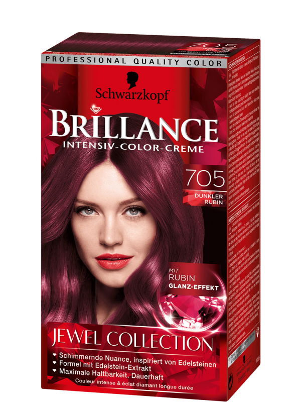 Brillance Intensiv Color Creme donkerrood