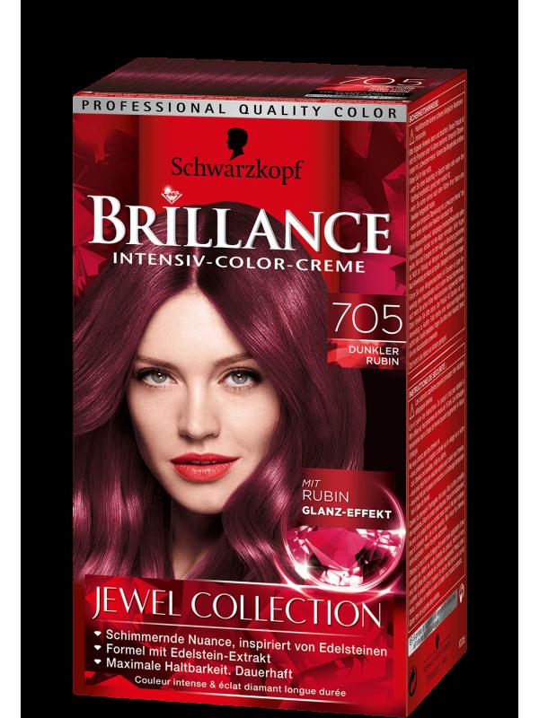 Brillance Intensiv Color Creme donkerrood